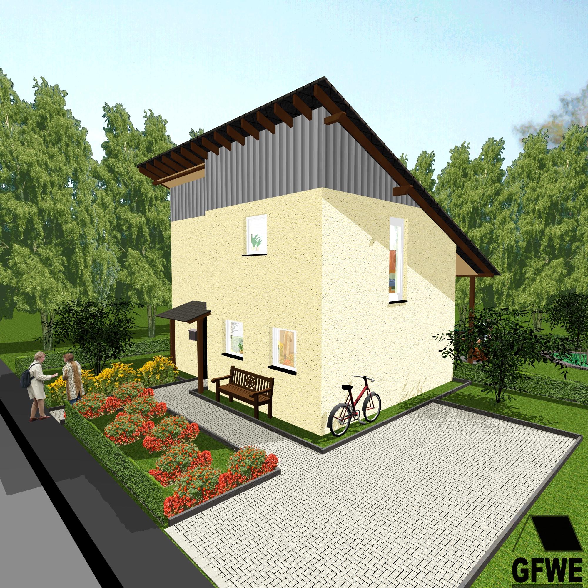 76 qm großes Single- oder Pärchenhaus in Dortmund - GFWE ...