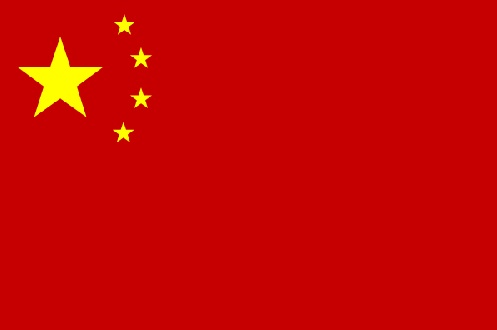 Flagge der Volksrepublik China